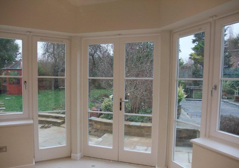 Wooden windows and wooden doors securestyle for French style storm doors