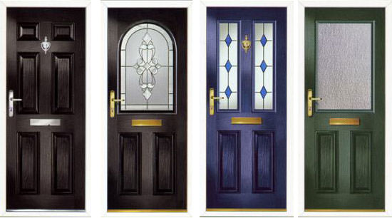 composite front doors Kent