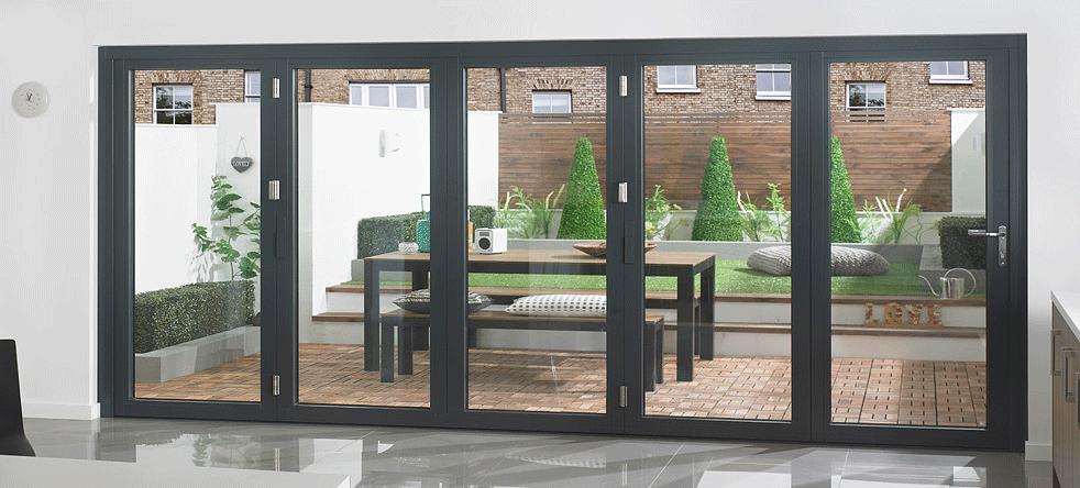 Aluminium bi-fold doors st peters