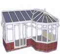 P-Shaped conservatory prices Kent