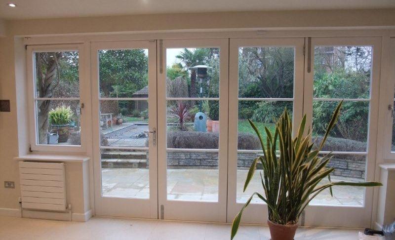 Wooden Bi-Fold Doors Kent