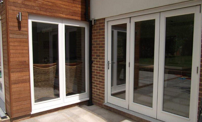 Timber Bi-Folding Doors Kent