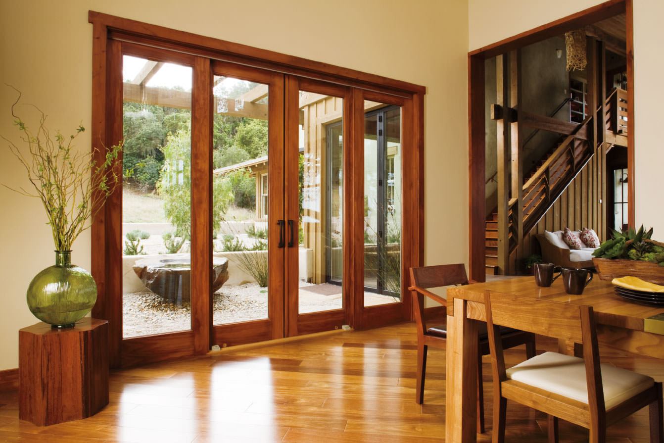 Wooden windows wooden doors kent timber window door for Outside sliding glass doors