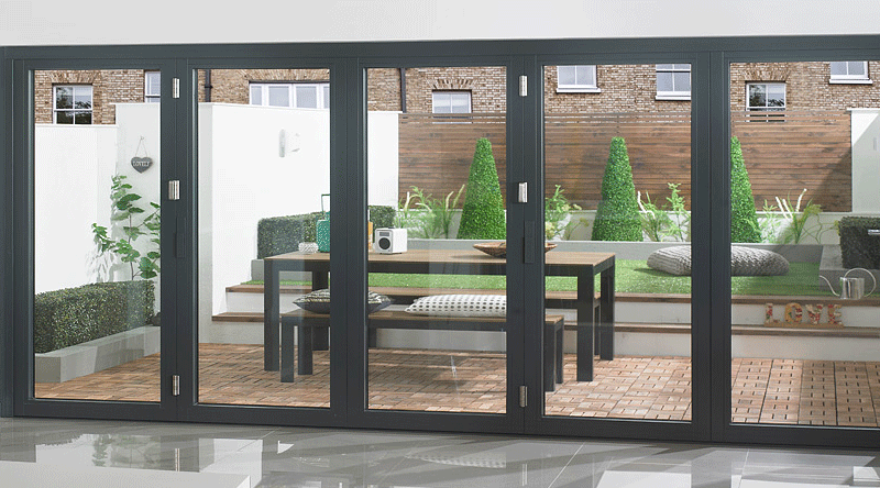 Aluminium Bi-Fold Doors Gillingham