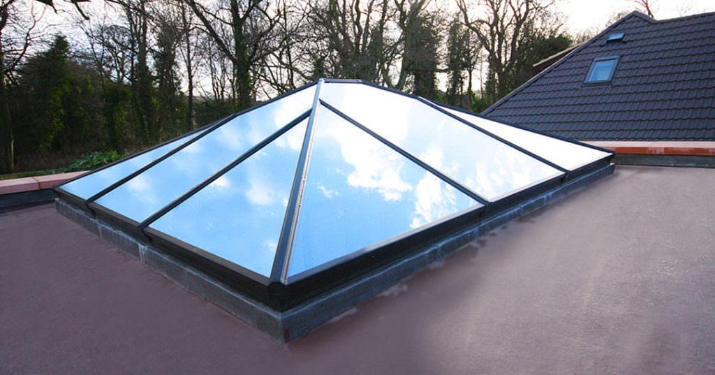 aluminium roof lantern Kent