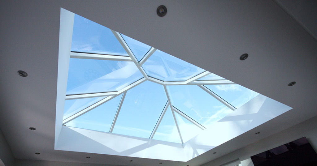 aluminium roof lantern prices Kent