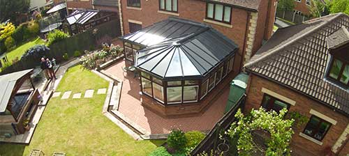 P-Shaped Conservatory Style Canterbury Kent