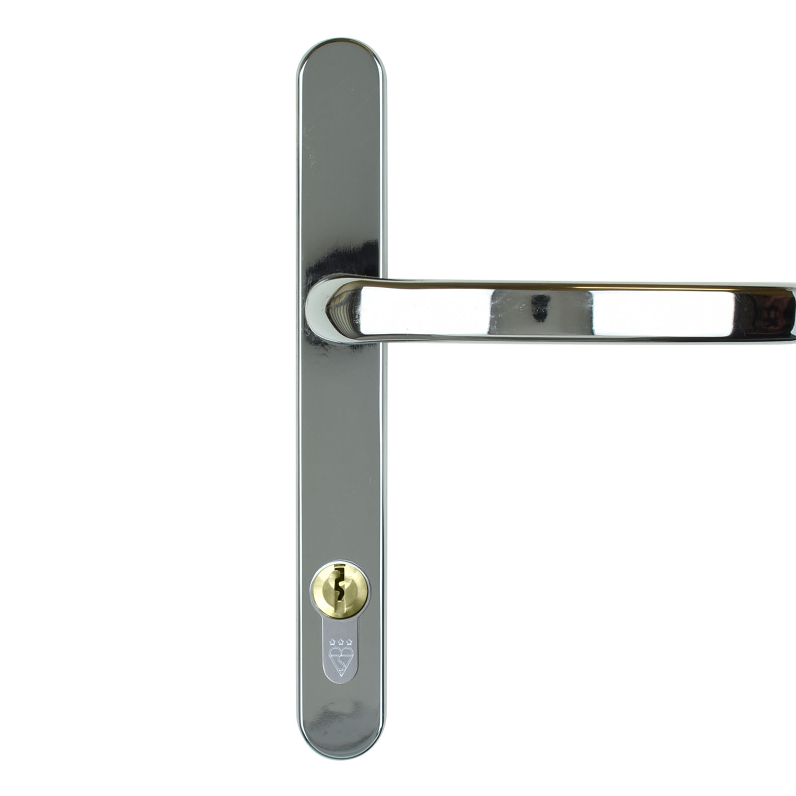 composite door handle dda chrome