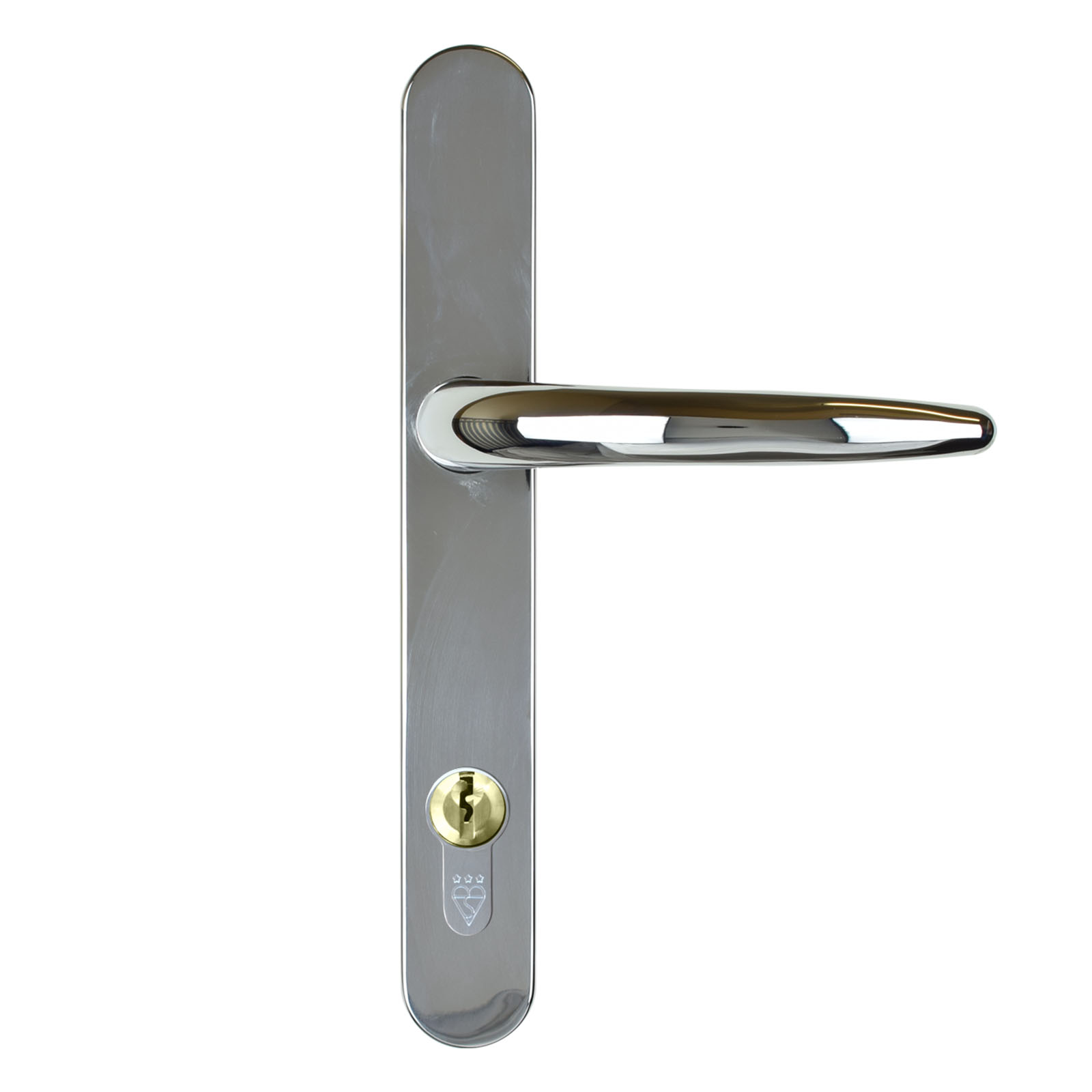 door handle standard chrome
