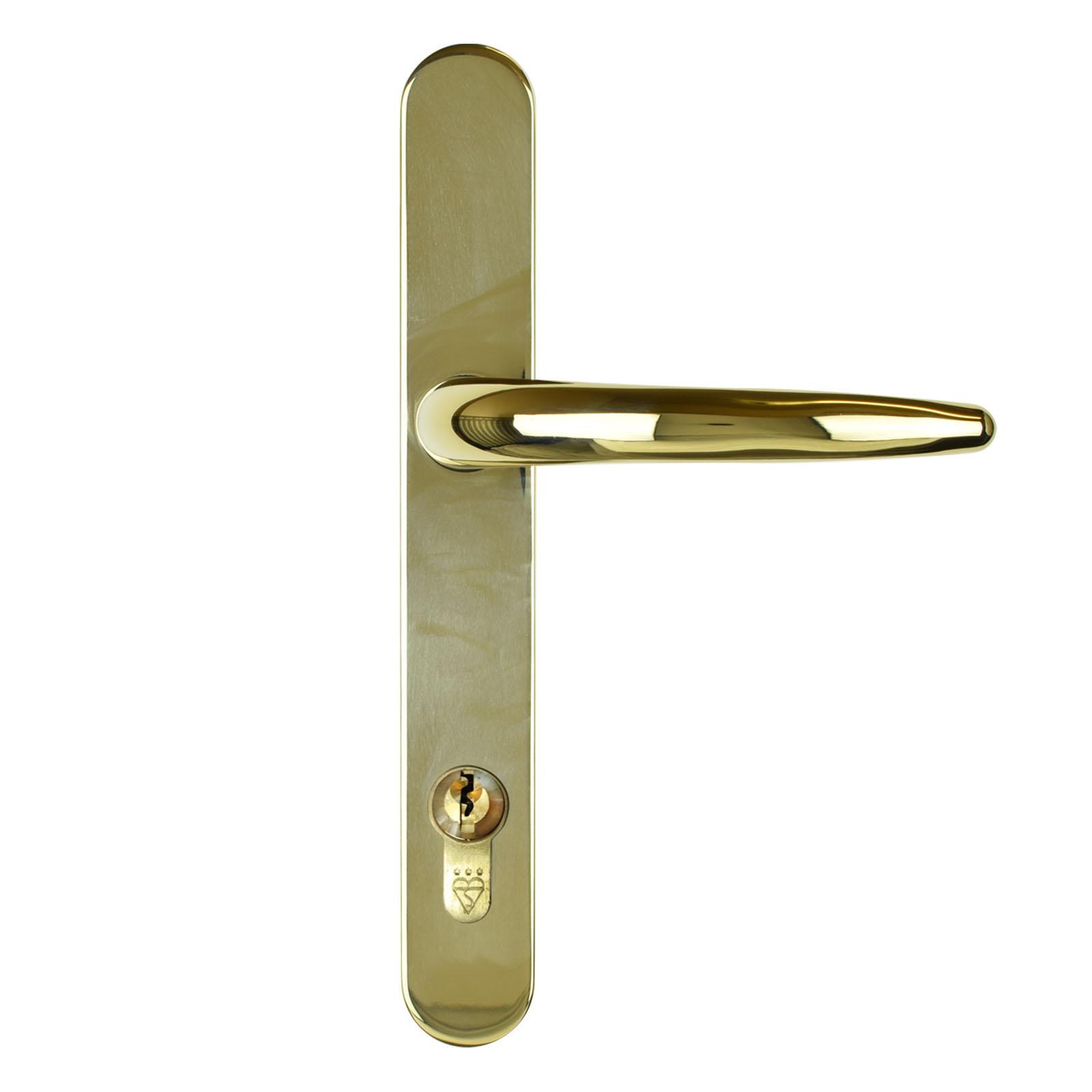 composite door handle standard gold