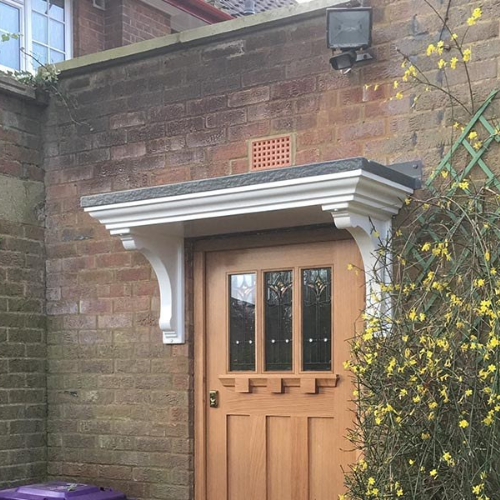 door canopy supplied and fitted near me