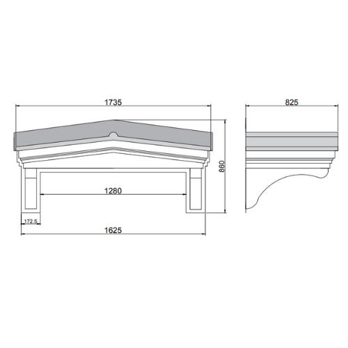 front door canopies UK kent